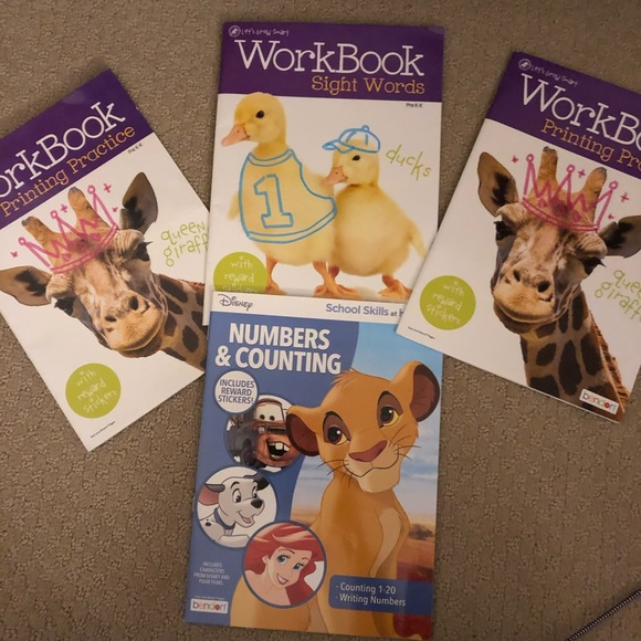 Learning Activity Work Books